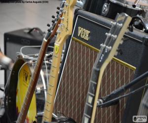 Rompicapo di Chitarre e amplificatore