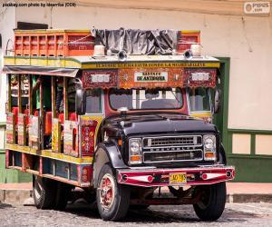 Rompicapo di Chiva, veicolo
