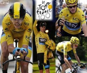 Rompicapo di Chris Froome Tour de France 13