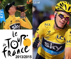 Rompicapo di Chris Froome Tour de France 15