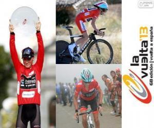 Rompicapo di Chris Horner, campione del Giro di Spagna 2013