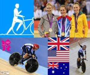 Rompicapo di Ciclismo omnium femminile LDN12
