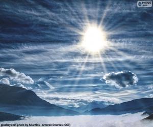 Rompicapo di Cielo durante il giorno