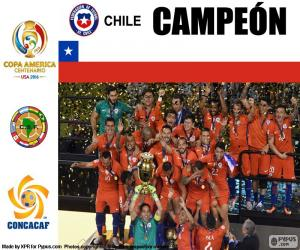 Rompicapo di Cile campione Copa America 2016