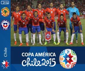 Rompicapo di Cile Copa America 2015