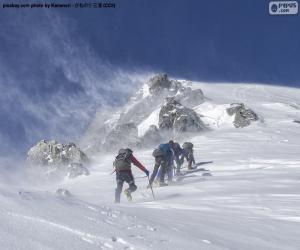 Rompicapo di Cinque alpinisti