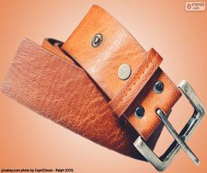 Rompicapo di Cintura in pelle