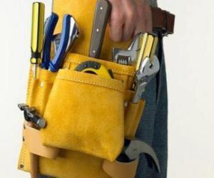Puzzle di cintura porta attrezzi e rompicapo da stampare - Porta metro da cintura ...