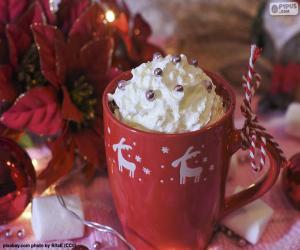 Rompicapo di Cioccolato alla tazza di Natale