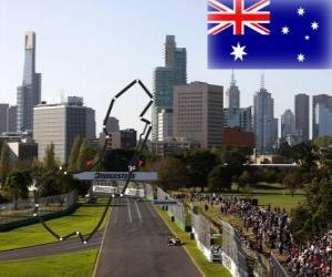 Rompicapo di Circuito dell'Albert Park - Australia -