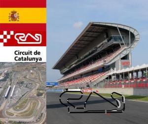 Rompicapo di Circuito di Catalogna - Spagna -