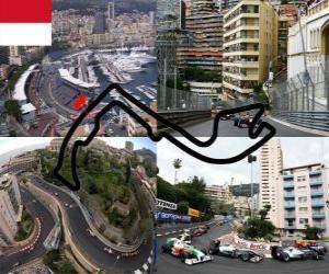 Rompicapo di Circuito di Montecarlo - Monaco -