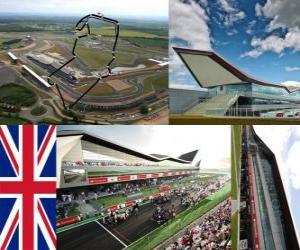 Rompicapo di Circuito di Silverstone - Inghilterra -