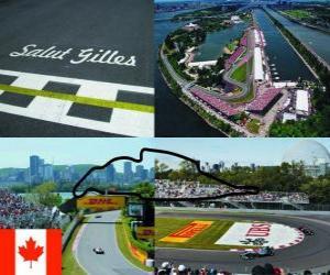 Rompicapo di Circuito Gilles Villeneuve - Canada -