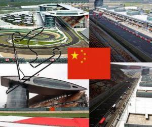 Rompicapo di Circuito Internazionale di Shanghai - Cina -