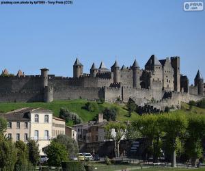 Rompicapo di Città fortificata di Carcassonne, Francia