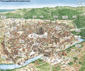 Rompicapo di Città medievale