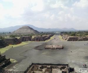 Rompicapo di Città pre-ispanica Teotihuacán