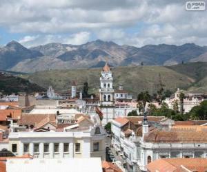 Rompicapo di Città storica di Sucre, Bolivia