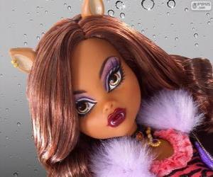 Rompicapo di Clawdeen Wolf da Monster High