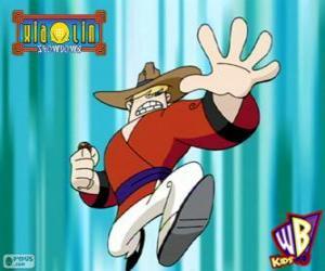 Rompicapo di Clay Bailey, il Xiaolin dil Drago della Terra, un cowboy de Texas
