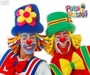 Rompicapo di Clown Patati Patatá