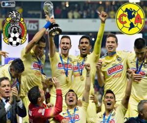 Rompicapo di Club America, campione Apertura Messico 2014