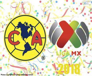 Rompicapo di Club America, campione di Apertura 2018