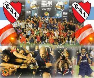 Rompicapo di Club Atlético Independiente Campione del IX 2010 Copa Sudamericana