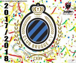 Rompicapo di Club Brugge KV, Pro League 2017-2018