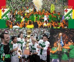 Rompicapo di Club Deportivo Oriente Petrolero campione del Clausura 2010 (Bolivia)