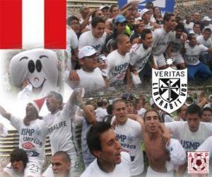 Rompicapo di Club Deportivo Universidad San Martin de Porres campionato campione decentrata 2010 (PERÙ)