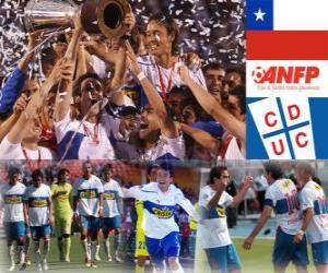 Rompicapo di Club Deportivo Universidad Católica Campione del Campionato Nazionale di Prima Divisione 2010 (CILE)
