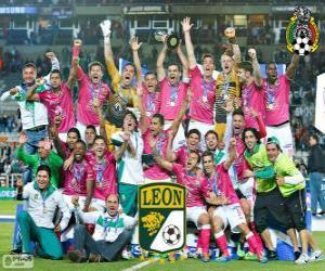 Rompicapo di Club León F.C., campione Clasura Messico 2014