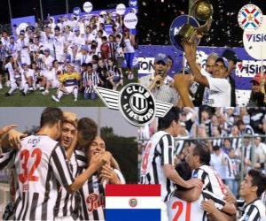 Rompicapo di Club Libertad campione del Clausura 2010 (Paraguay)
