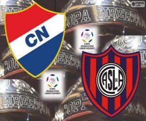Rompicapo di Club Nacional del Paraguay vs San Lorenzo de Almagro dell'Argentina. Finale di Copa Libertadores 2014