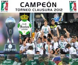 Rompicapo di Club Santos Laguna, campione del Clausura Messico 2012