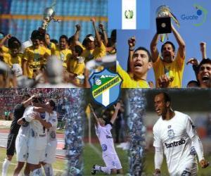 Rompicapo di Club Social y Deportivo Comunicaciones campione di Apertura 2010 (Guatemala)
