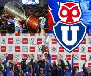 Rompicapo di Club Universidad de Chile, Campione cileno Apertura 2012