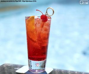 Rompicapo di Cocktail a bordo piscina
