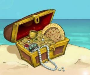 Rompicapo di Cofano del tesoro