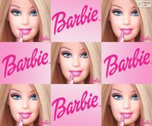 Rompicapo di Collage di Barbie