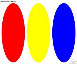 Rompicapo di Colori primari