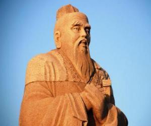 Rompicapo di Confucio, filosofo cinese, fondatore del Confucianesimo