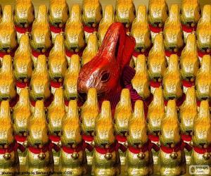 Rompicapo di Conigli di cioccolato