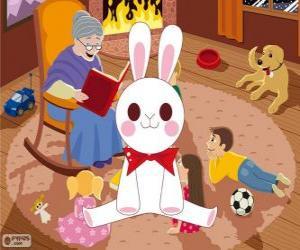 Rompicapo di Coniglio bianco da una fiaba