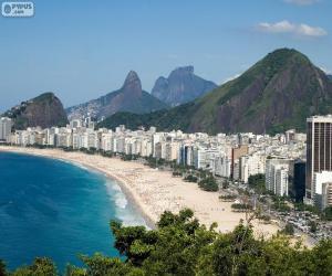 Rompicapo di Copacabana, Rio, Brasile