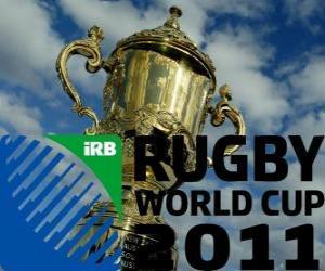 Rompicapo di Coppa del Mondo di Rugby 2011. E celebre in Nuova Zelanda dal 9 Settembre - 23 Ottobre