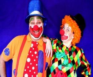 Rompicapo di Coppia di clown