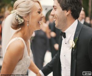Rompicapo di Coppia di sposi